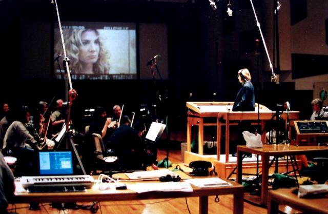 Hollywood Soundstage recording a film score