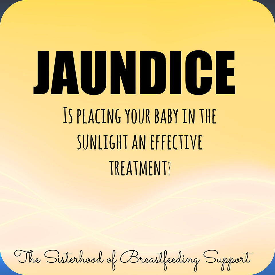 Newborn Babies Jaundice Treatment Is Placing Your Baby In Sunlight Enough To Treat Jaundice