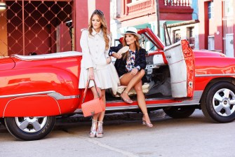 Sisterly Style In #ChanelCruiseCuba