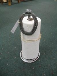 Horseshoe Paper Towel Holders Counter Top - Sisters Log ...