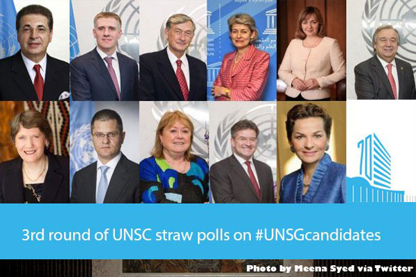 Who will be the next Secretary General of the United Nations