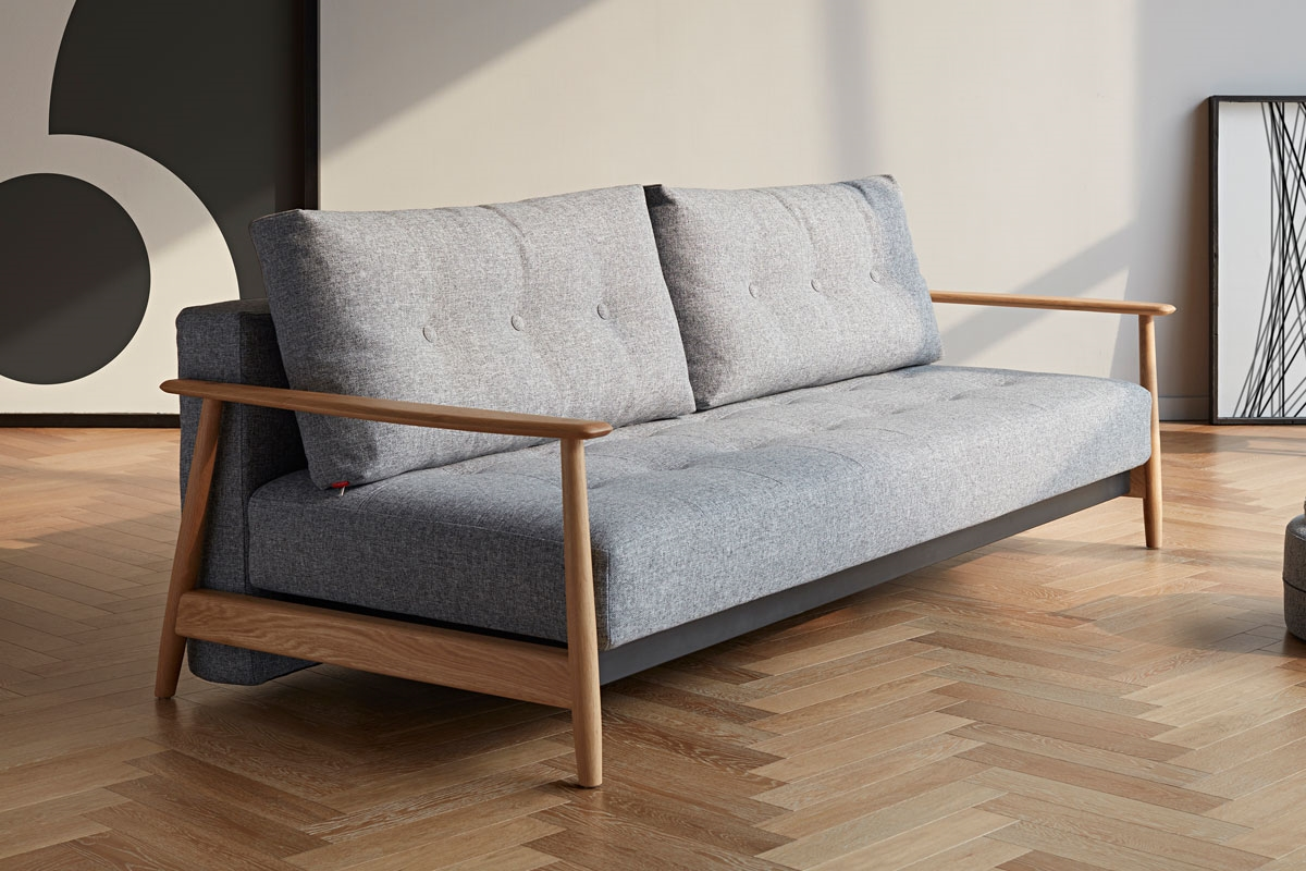Per Weiss Sofa Bed Uk Una Deluxe Button Sofa Bed