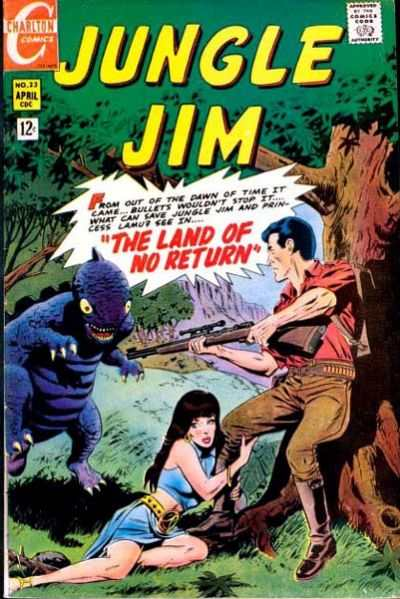 Jungle By Night Jungle Jim: Comic Book - Sitcoms Online Photo Galleries