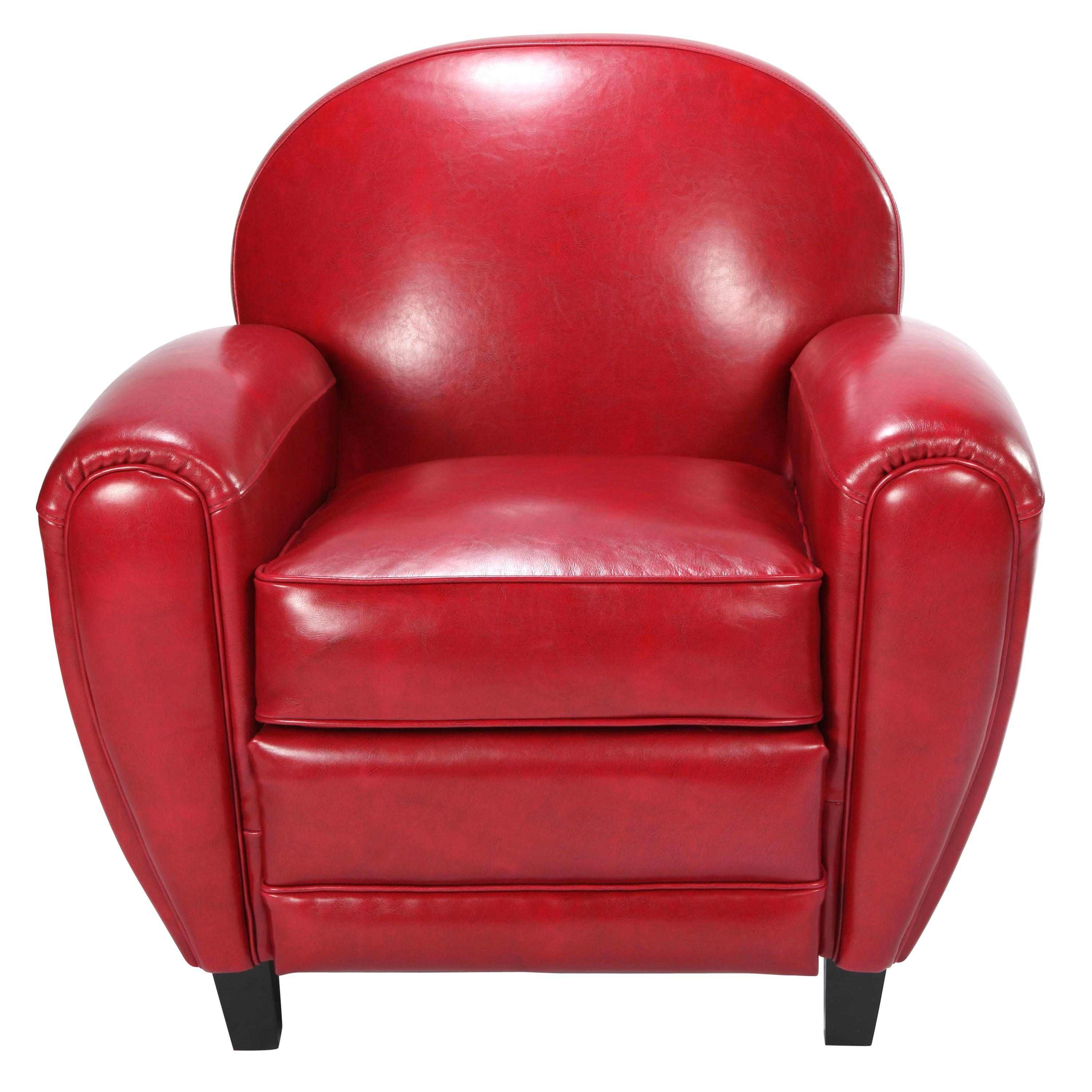 Fauteuil Cuir D'occasion Fauteuil Club Cuir Rouge