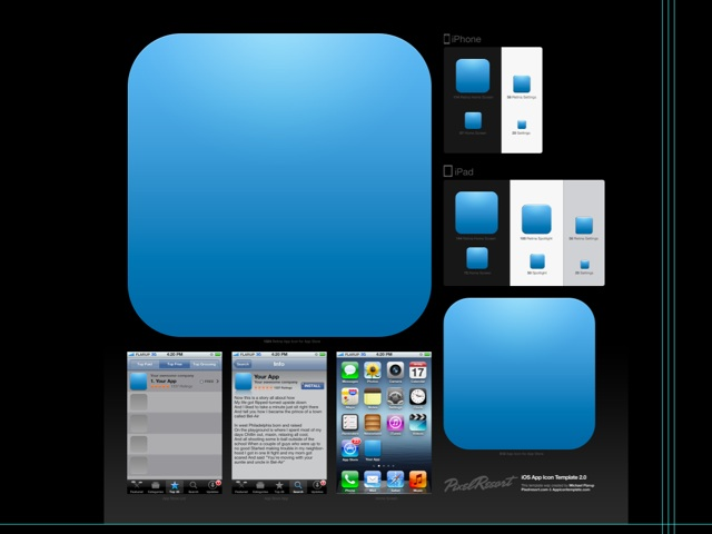 If You\u0027re An iOS Developer, You Need This App Icon Template Macgasm