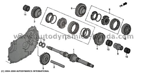 d16a vtec engine diagram