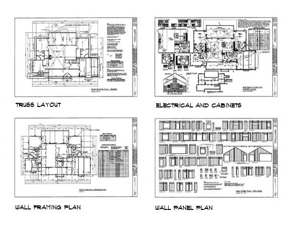ABOUT OUR PLANS Detailed Building Plan and Home Construction Plan