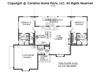 Small Florida Style House Plan SG-1376 Sq Ft | Affordable ...
