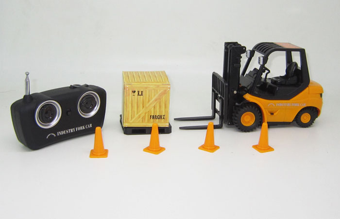 remote control forklift truck toy