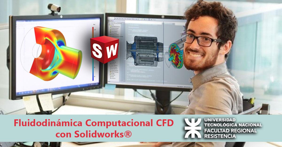 Fluidodinámica Computacional CFD con Solidworks®