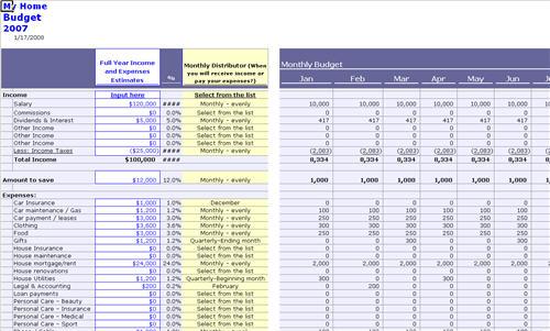 household budget ledger - Maggilocustdesign