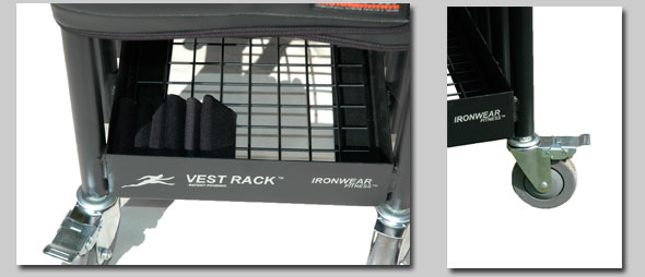 Vr8 Vest Racktm Wheeled Storage System For Weighted Gear