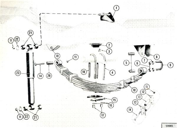 1955 jeep cj5 suspension diagram