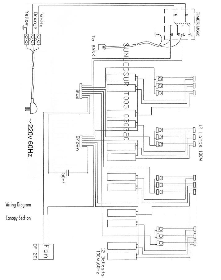 alpha sun tanning bed wiring diagram