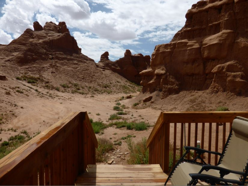 Single Couch Camping At Goblin Valley | Utah State Parks