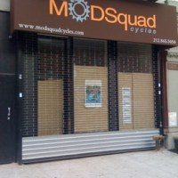 ModSquad Bike Shop Sign is Up in Harlem