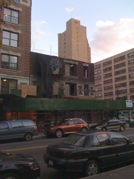 Central Harlem Building Going Down