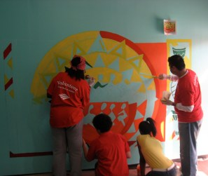 Harlem Childrens Zone office gets a facelift