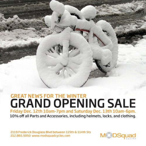 UPDATE: MODSquad Grand Opening December 12 13th