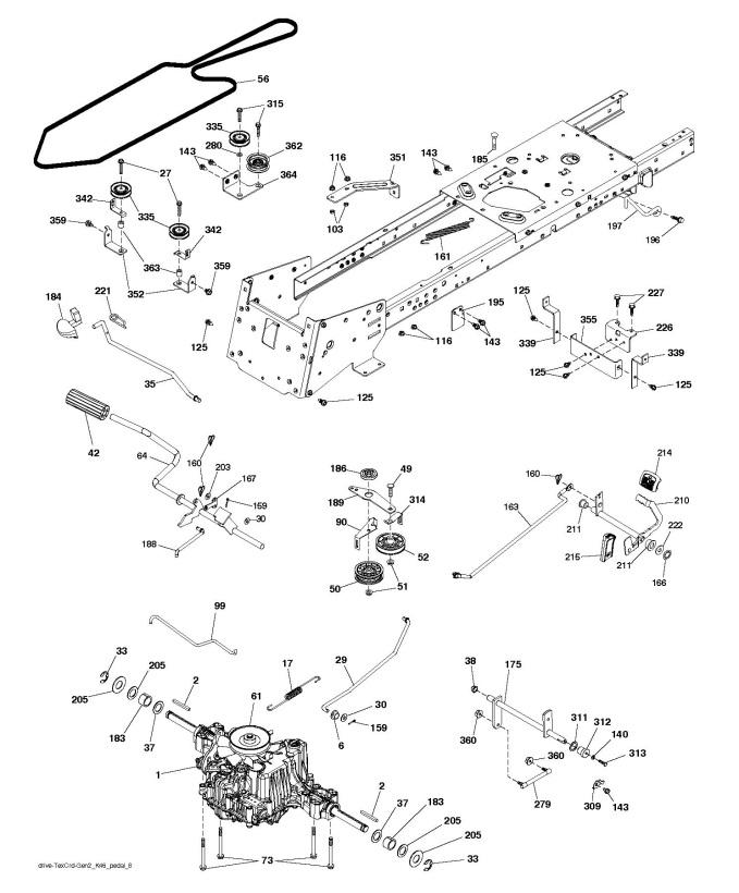 husqvarna cth174 auto electrical wiring diagram
