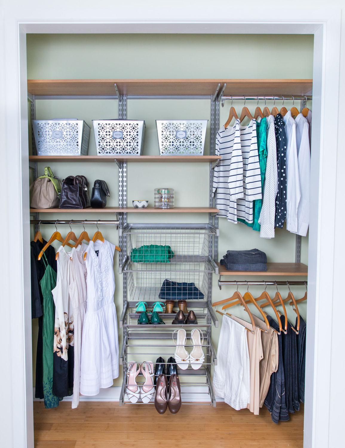 Closet Organization Organized Living Closets Storage Professional Organizers