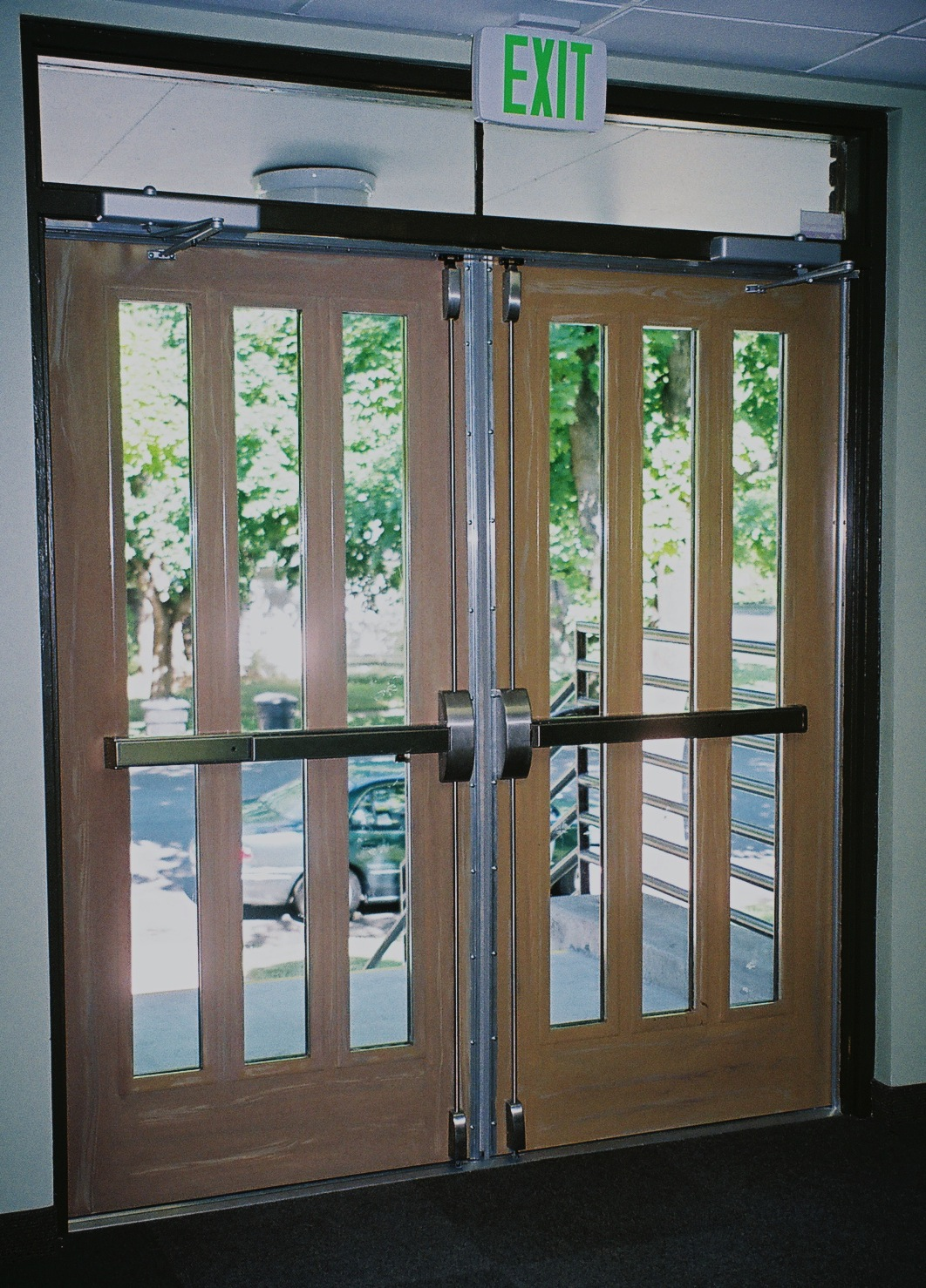 Commercial interior glass doors for Commercial exterior doors