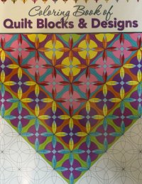 Coloring Book of Creative Quilt Designs - 748628113435
