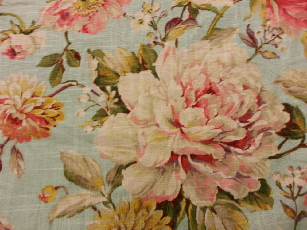 English garden shabby chic style french country linen