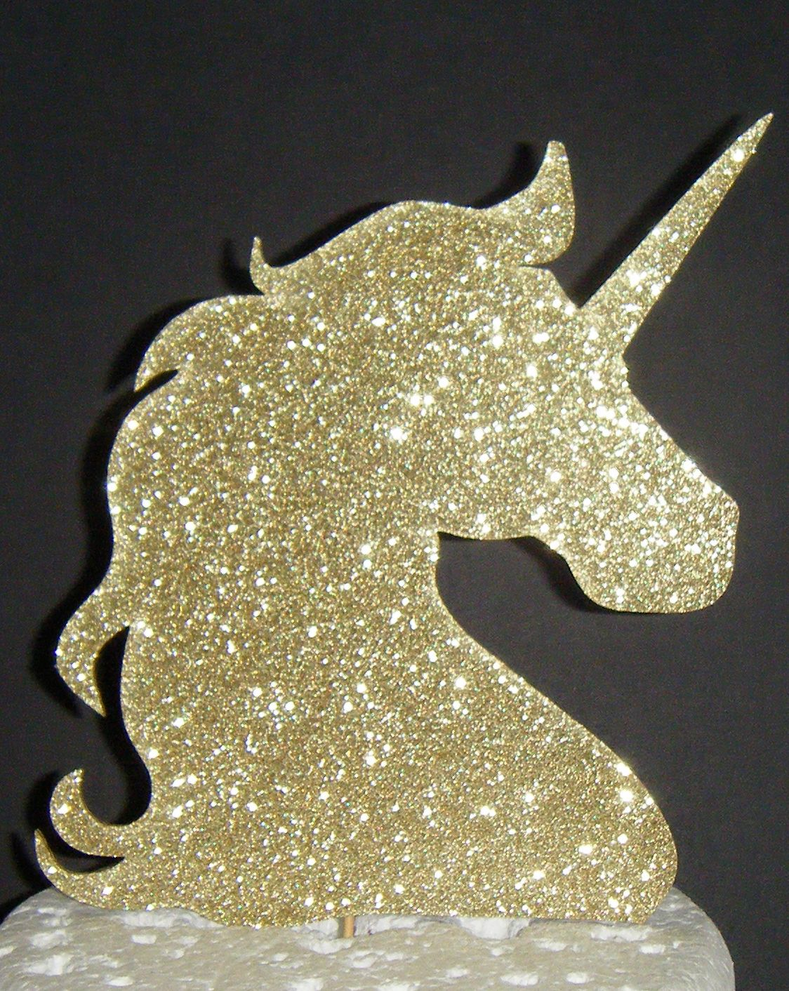 Door Designs With Net Unicorn Head Cake Topper