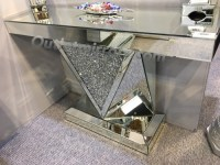 *Diamond Crush Sparkle Crystal Vida Console Table Item in ...
