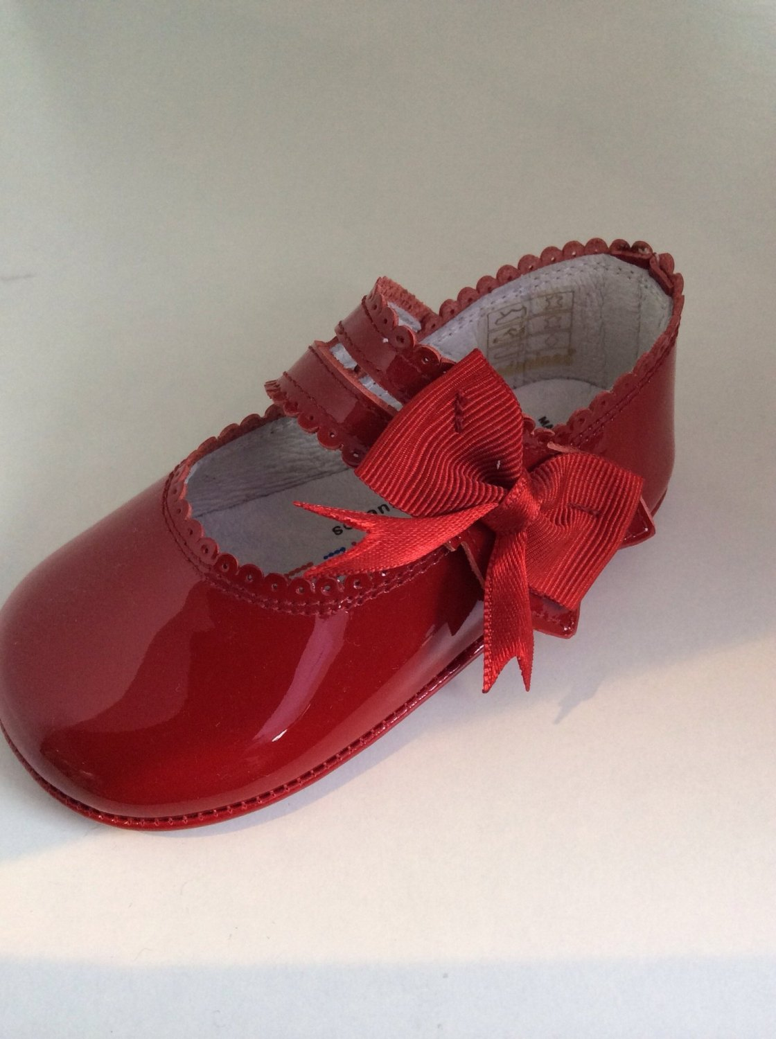 Baby Bags On Sale Girls Andanines Soft Sole Shoes Red