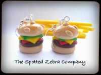 Cheeseburger Keyring | Quirky Jewellery | The Spotted ...