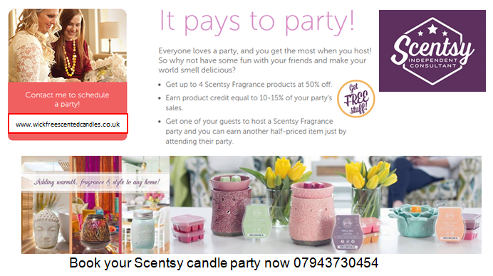 Candle Home Parties Trendy I Love You Scented Candles