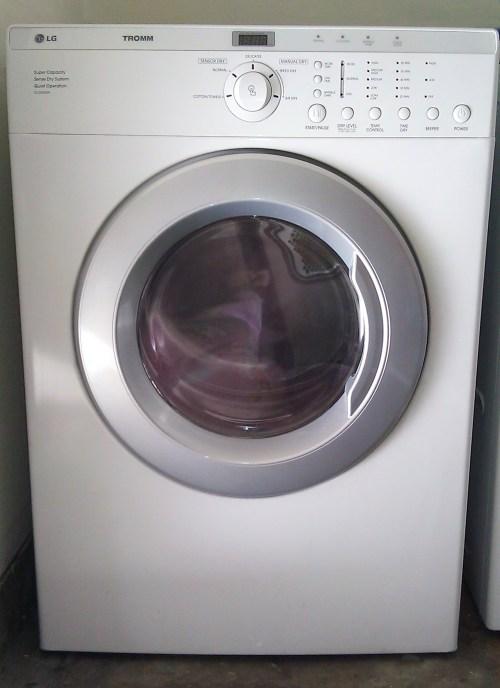Medium Of Lg Tromm Dryer