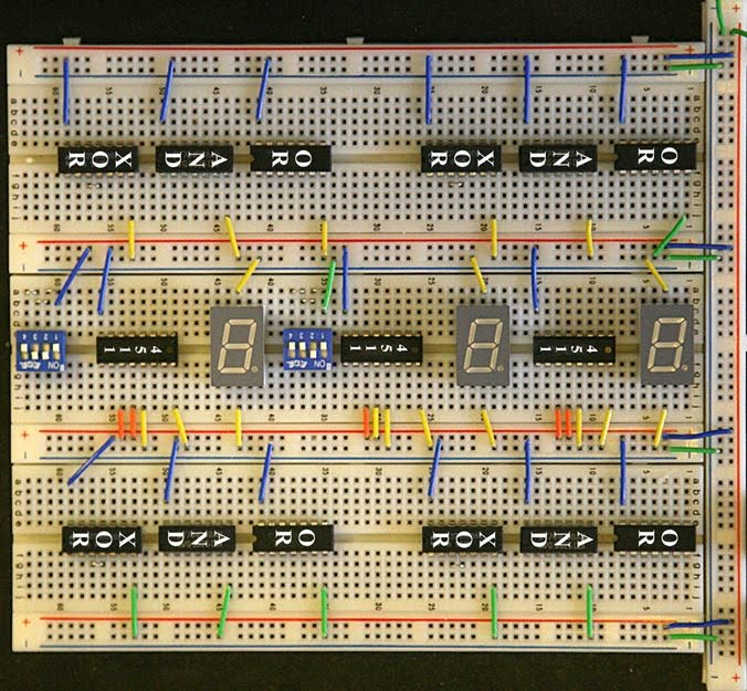 9 Four Bit Adder - Mr Bridger\u0027s Web Page