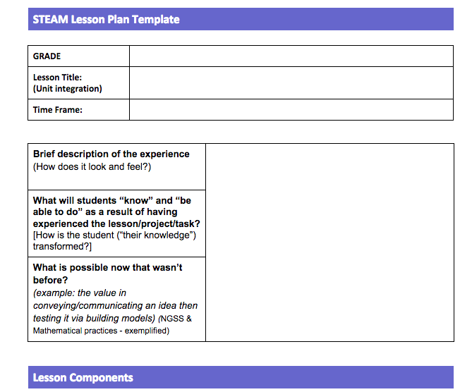 Gifted Lesson Plan Template Costumepartyrun
