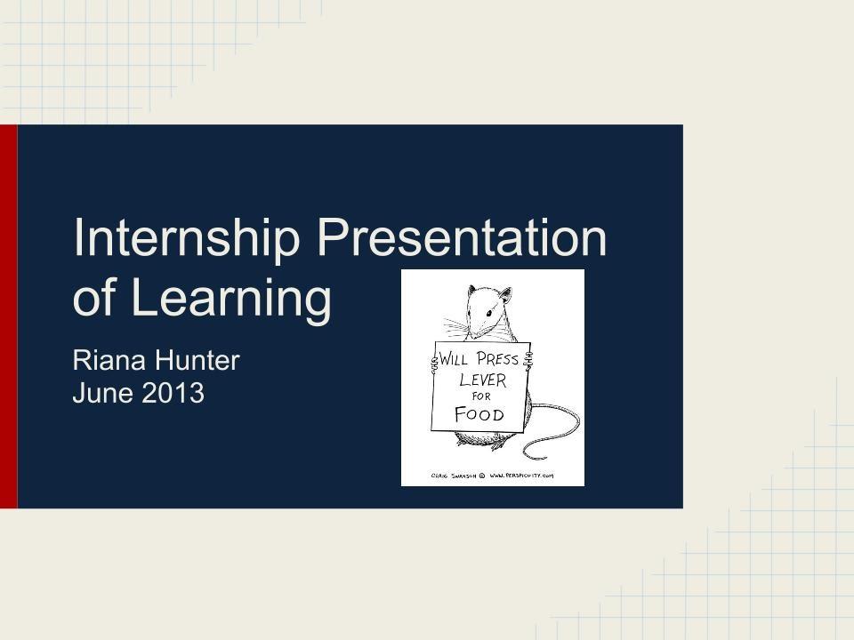 Salk Institute Internship - Riana Hunter\u0027s Digital Portfolio