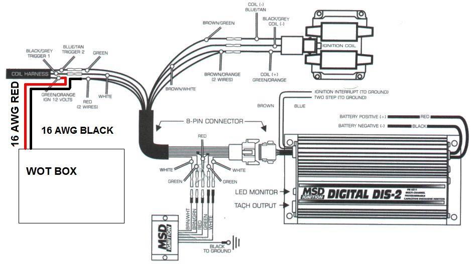 digital 2 step msd wiring diagram