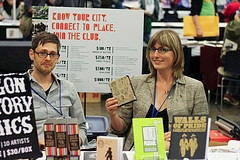 Sarah Mirk with Oregon History Comics