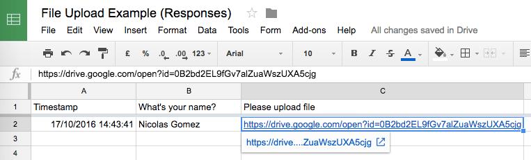 resume upload google drive
