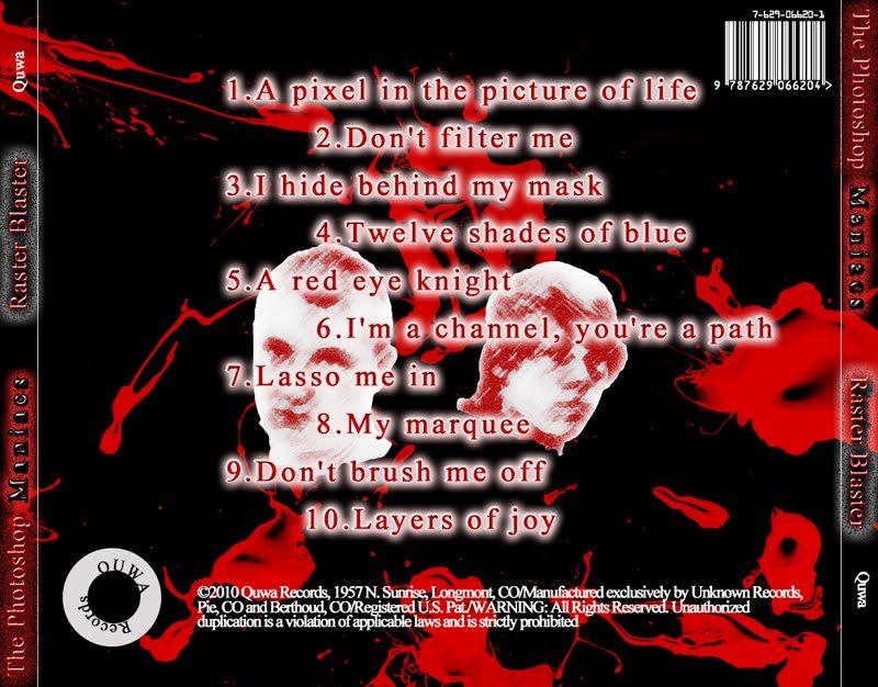 CD Cover Back - Nick Zumhofe\u0027s Portfolio