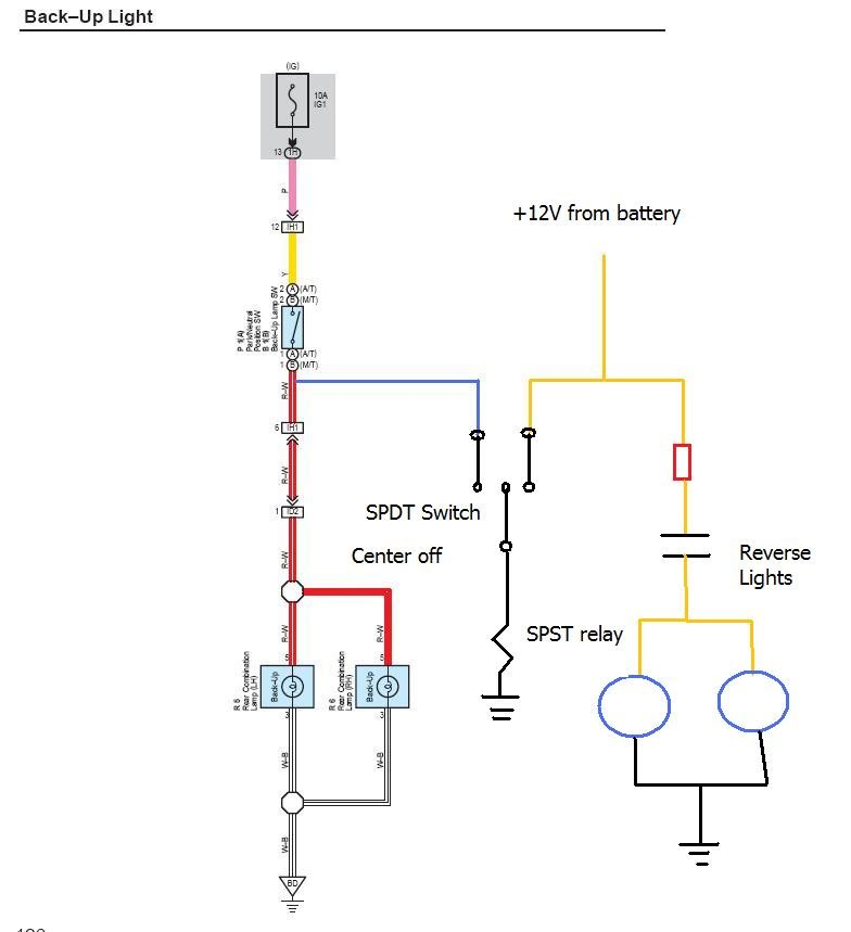 wiring diagram for blinking lights project