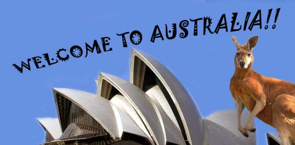 australia welcome to down under