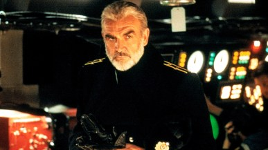 Sean Connery as Ramius in The Hunt For Red October