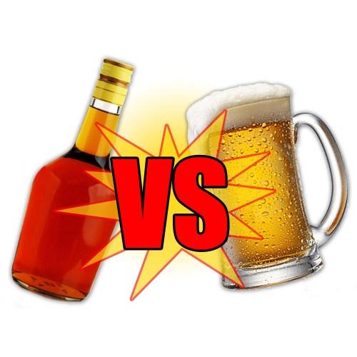 Medium Crop Of Beer Before Liquor
