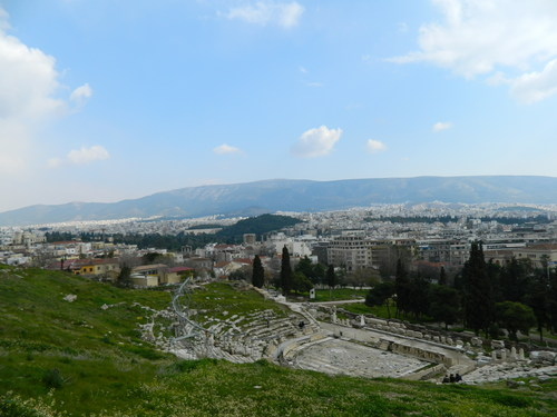 theater of dionysus and athens