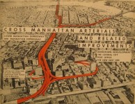 Robert Moses' plan for the Lower Manhattan Expressway