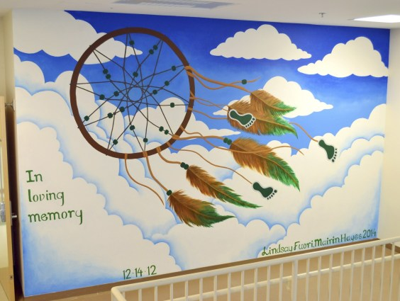 newtown high school mural