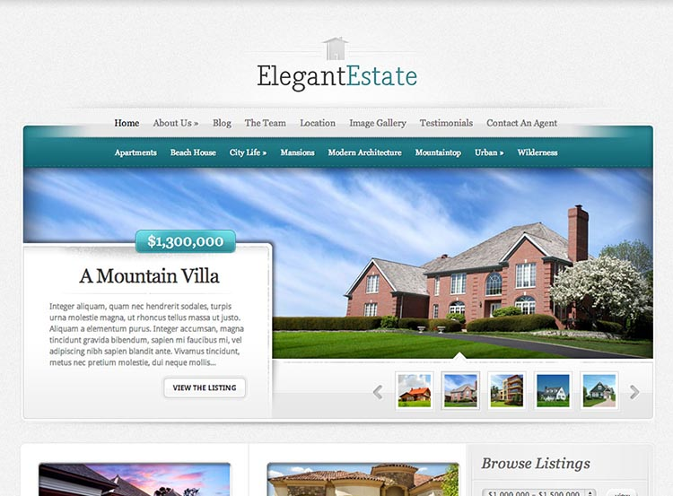 20+ Best Wordpress Property Management Themes 2019 - Siteturner