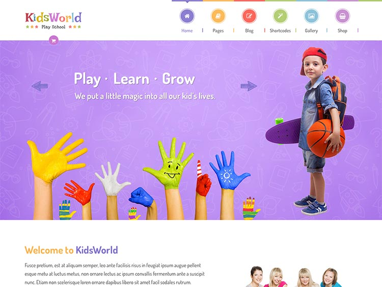 20 Best WordPress Daycare Themes for 2019 - Siteturner